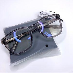 Quay hardwire gray blue light glasses NEW